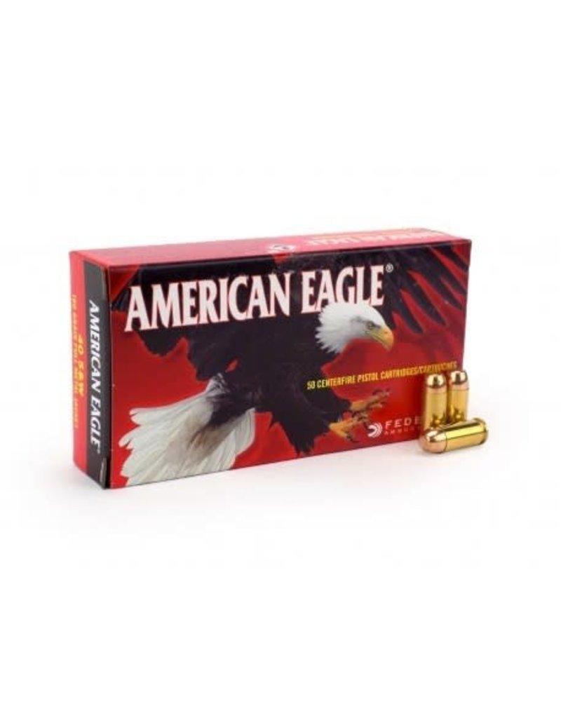 Federal American Eagle  40 S&W 180gr FMJ