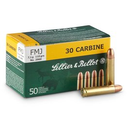 Sellier & Bellot 30 CARBINE 110gr FMJ