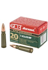 Barnaul 7.62x39, 123gr, HP, Box of 20
