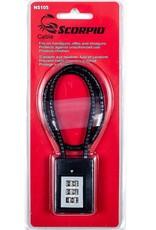 Scorpio Scorpio Combo Cable Lock
