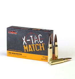 PMC X-TAC Match 308 Win 168GR OTM 20RDS