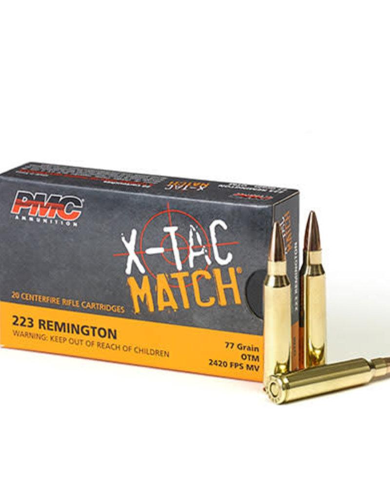 PMC X-TAC Match 223 Rem 77GR OTM 20RDS