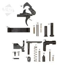 ALG Defence Complete AR15/M4 Mil-Spec Lower Parts Kit with QMS Trigger (Less Grip)