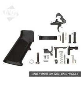 ALG Defence Complete AR15/M4 Mil-Spec Lower Parts Kit with QMS Trigger (With Grip)