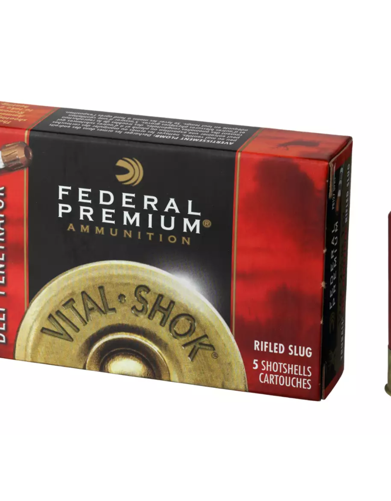 Federal Premium Vital-Shok TruBall Deep Penetrator Rifled Slug