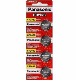 Panasonic Panasonic CR2032 3 Volt Lithium Coin Battery 5 Pack