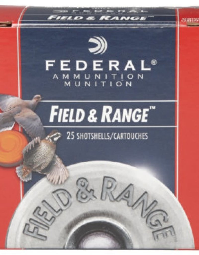 "Federal Field & Range 20 Gauge 2-3/4"" 7/8 oz #7.5 Shot 250/Case"