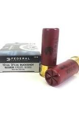 """Federal 12 Gauge 2-3/4"""" 00 Buckshot 9 Pellets"""