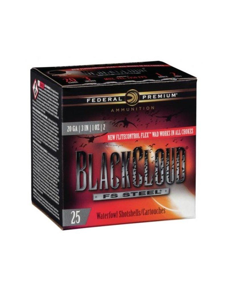 "Federal Black Cloud Waterfowl Shotshell 20 GA 3"" 1oz 2 ,25 Rnd per Box"