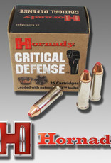 Hornady Critical Defense Pistol Ammo 9MM, FTX, 115 Gr, 1140 fps, 25 Rnd, Boxed