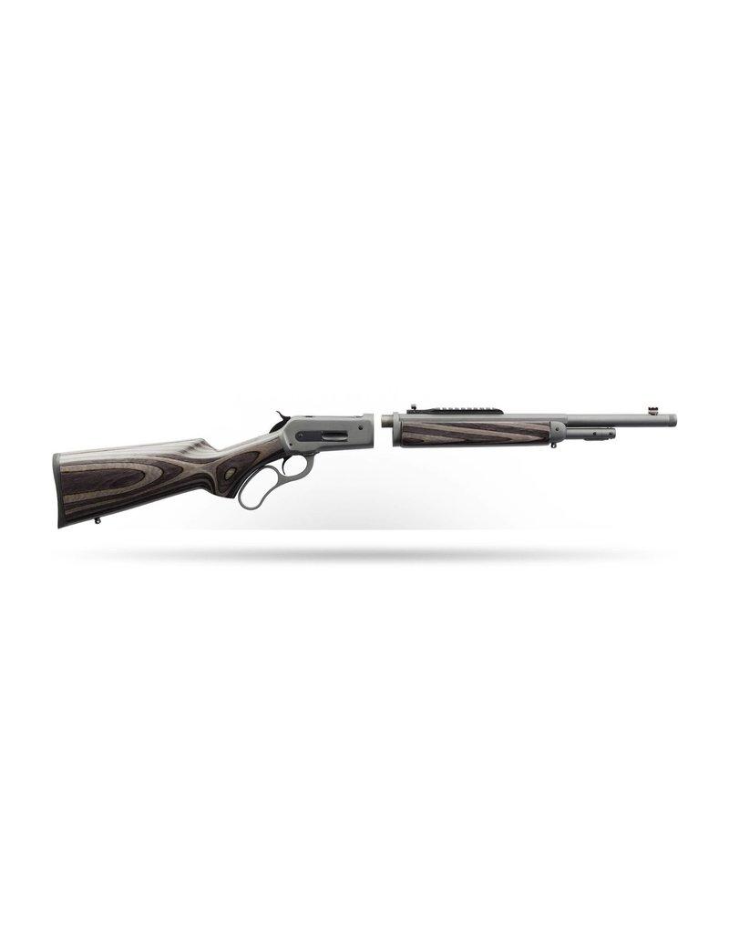 "Chiappa 1886 Lever-Action Takedown Wildlands Rifle (Dark Gray) 45-70/18.5""BBL"