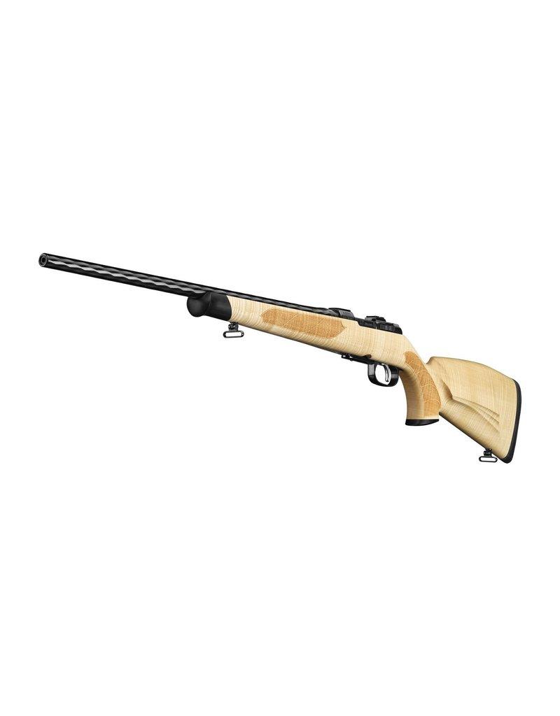 CZ 527 Maple Edition Bolt Action Rifle, 223 REM, 3 Rnd