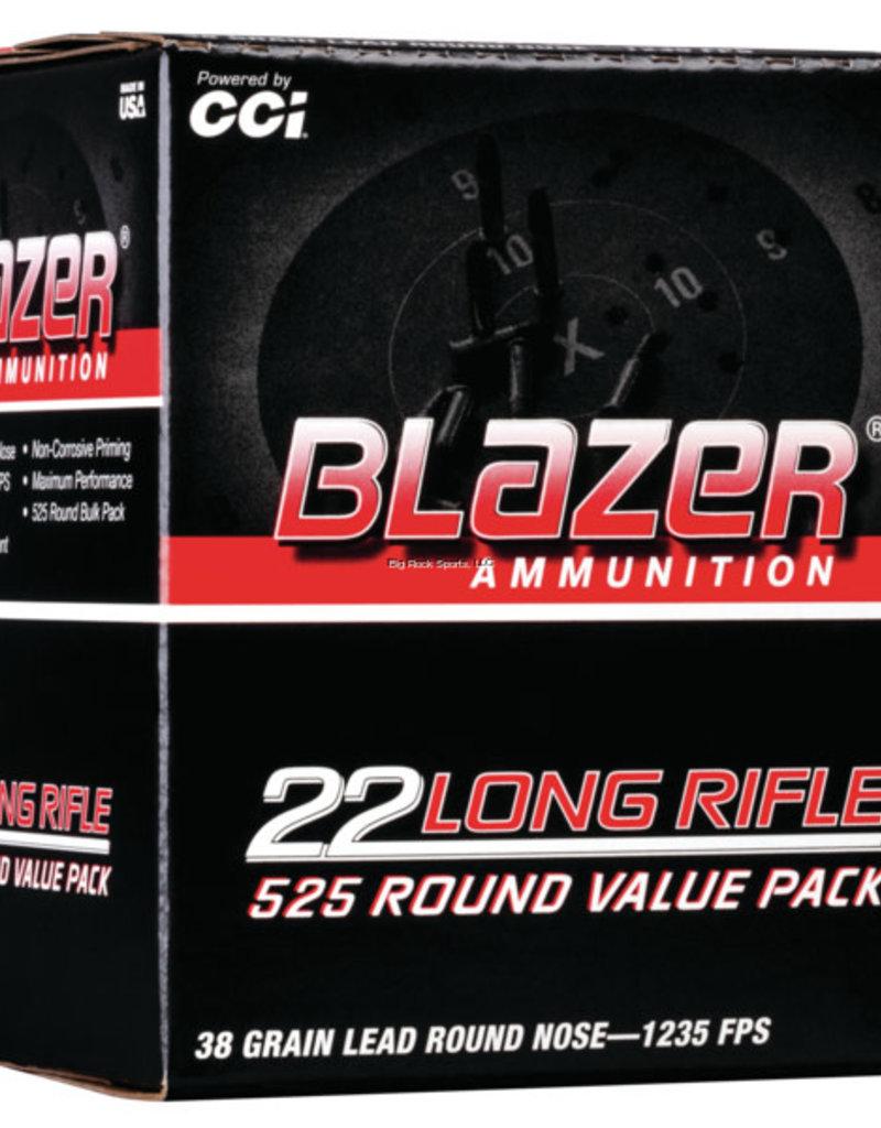 CCI Blazer Rimfire Bulk Pack .22LR 38gr 525Rnd