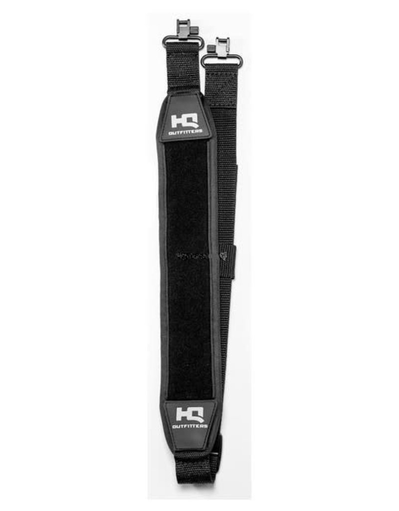 HQ Outfitters HQ-NRS-BK Stretch Neoprene Sling with Swivels. Black