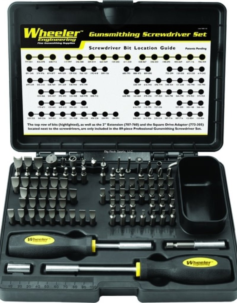 Wheeler Gunsmithing Kit 89 Piece Deluxe