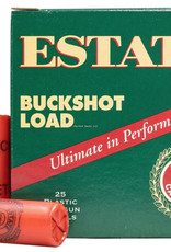 "Estate  00 High-Velocity Buckshot 12 Ga, 2-3/4"", No. 00BK, 9 pellets, 25 Rnd Box, 1325 FPS"