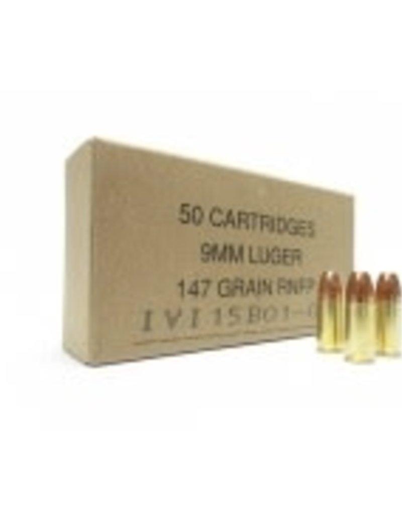 IVI CANADA c.9mm NON-TOXIC 147GR FMJ 50 RD BOX