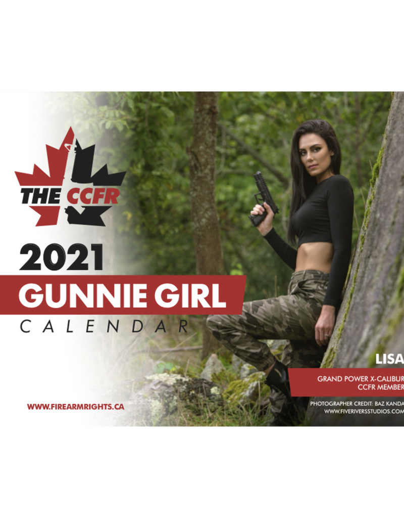 CCFR 2021 CCFR Gunnie Girl Fundraising Calendar