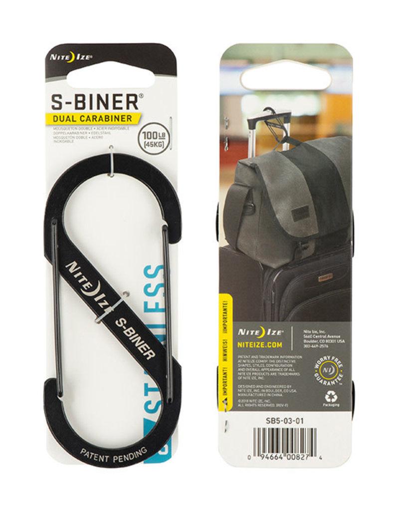 Nite Ize S-Biner Stainless Steel Dual Carabiner