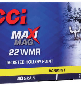 CCI MeatEater Series Maxi-Mag 22 WMR 200rds