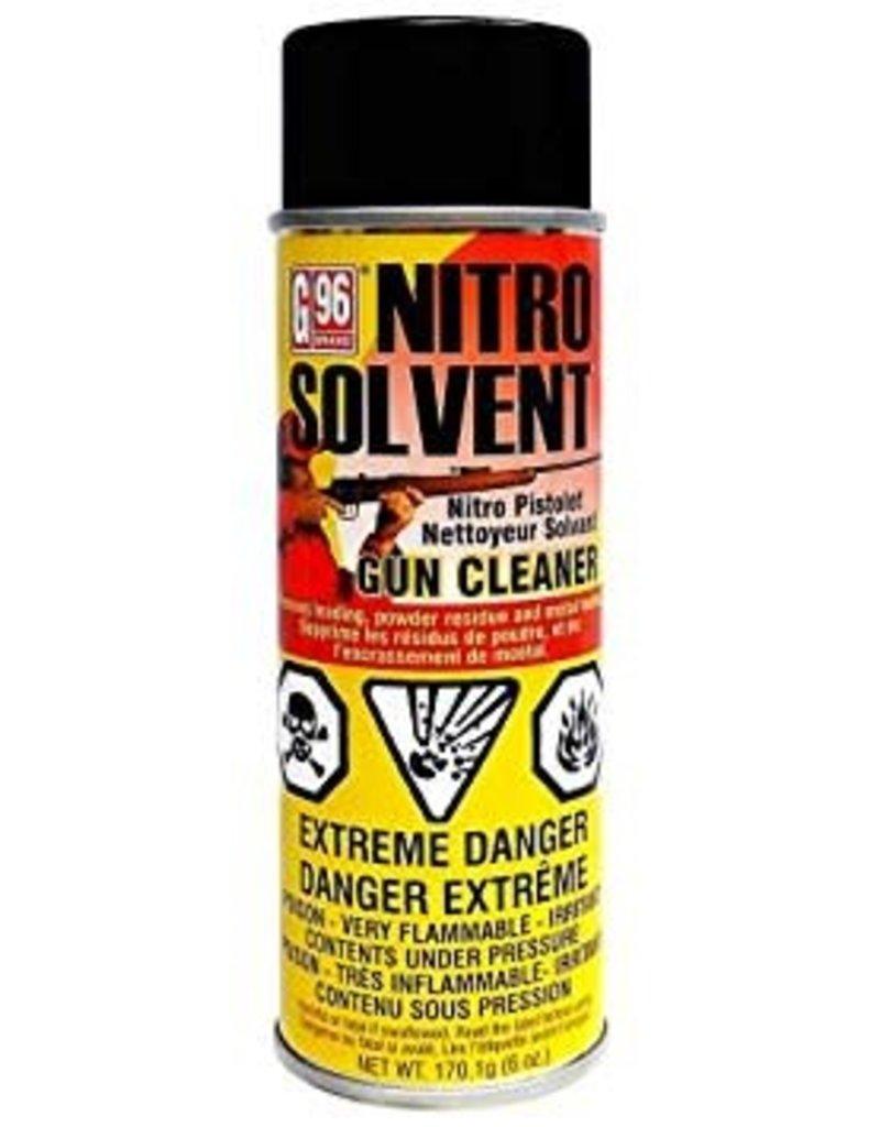 G96 Nitro Solvent Aerosol Can 6oz