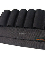 HQ Outfitters Elastic Nylon Buttstock Shotgun Shell Holder
