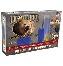 Lightfield CWXR-12 Wildlife Control Extended Range Rubber Slug Slugs 12