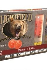 Lightfield CWXR-12 Double Ball Wildlife Control Slug 12 GA 2-3/4
