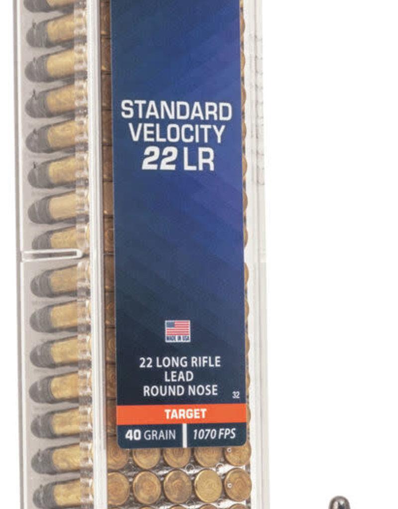 CCI Standard Velocity 22LR, 40 Grain Lead Round-Nose Box of 100