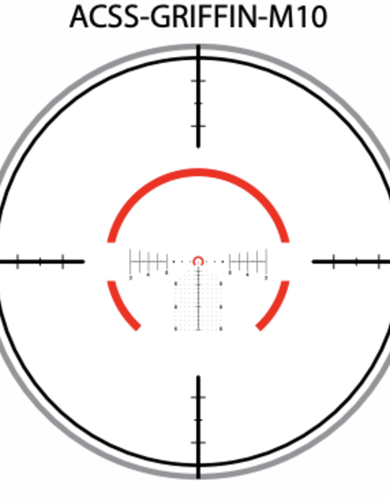 Primary Arms GLx 1-10×24 FFP Rifle Scope with ACSS Griffin MIL Reticle