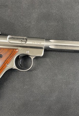 """Consignment Ruger MKIII Hunter .22 LR 6.88"""" Barrel, Stainless"""