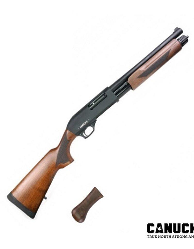 Canuck Regulator/Defender Pump Shotgun Combo, Walnut