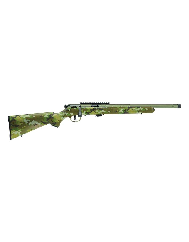 """Savage Mark II FV-SR Bolt Action Rifle, 22 LR, 16.5"""" Fluted Bbl,"""