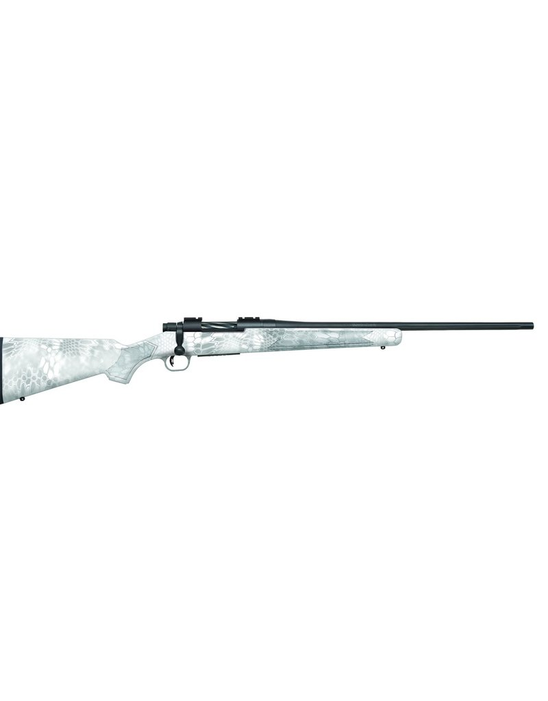 "Mossberg Patriot Bolt Action Rifle, 6.5 CREED, 22"" Bbl, Kryptek Snow Camo, Wraith Stock, BRS"