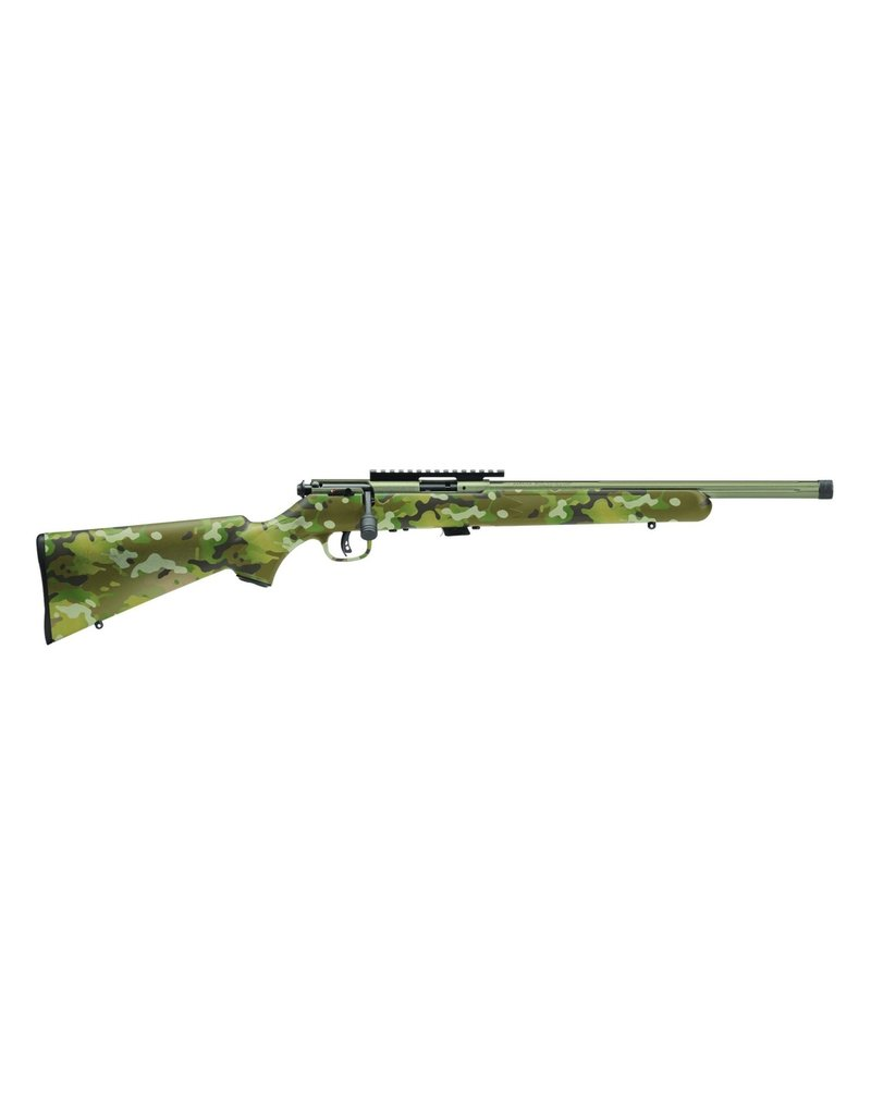 "Savage 93R17 FV-SR BoltAction Rifle, 17HMR, 16.5"" Fluted Bbl,"