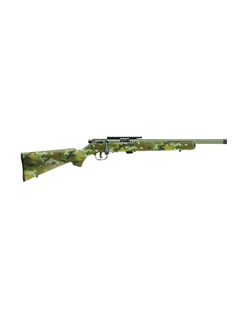 "Savage93 FV-SR Bolt Action Rifle, 22 WMR, 16.5"" Fluted Bbl,"