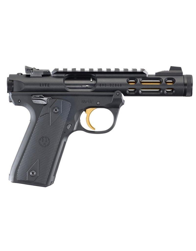 "Ruger IV 22/45 Lite Semi-Auto Pistol 22LR 4.4"" Threaded Barrel Black Anodized"