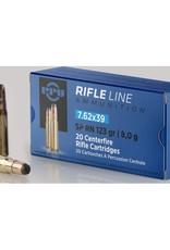 PPU Rifle Ammo 7.62x39 PSP 123gr