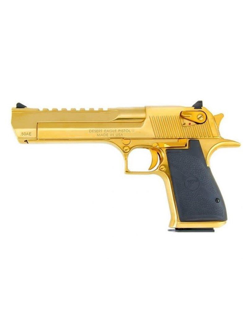 """Magnum Research Desert Eagle XIX - .50 AE, 6"""", Titanium Gold"""
