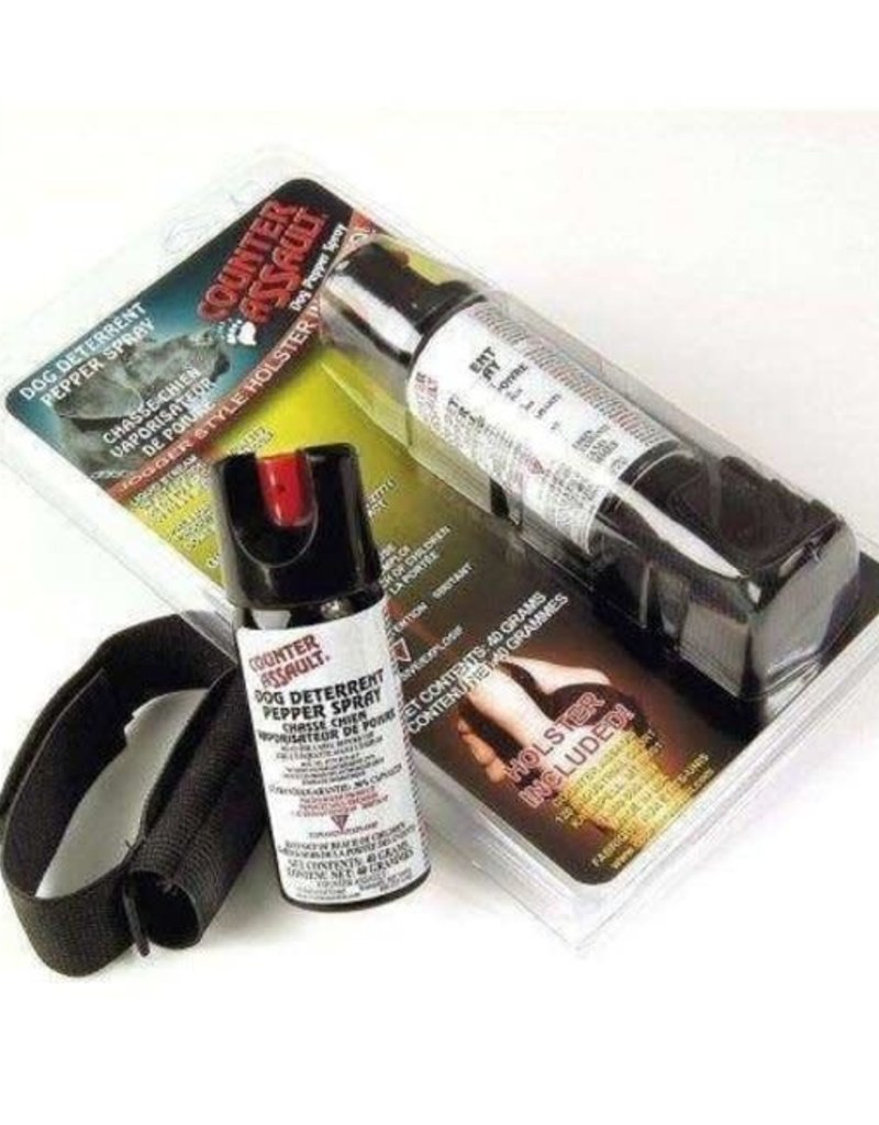 Counter Assault Dog Deterrent with Holster
