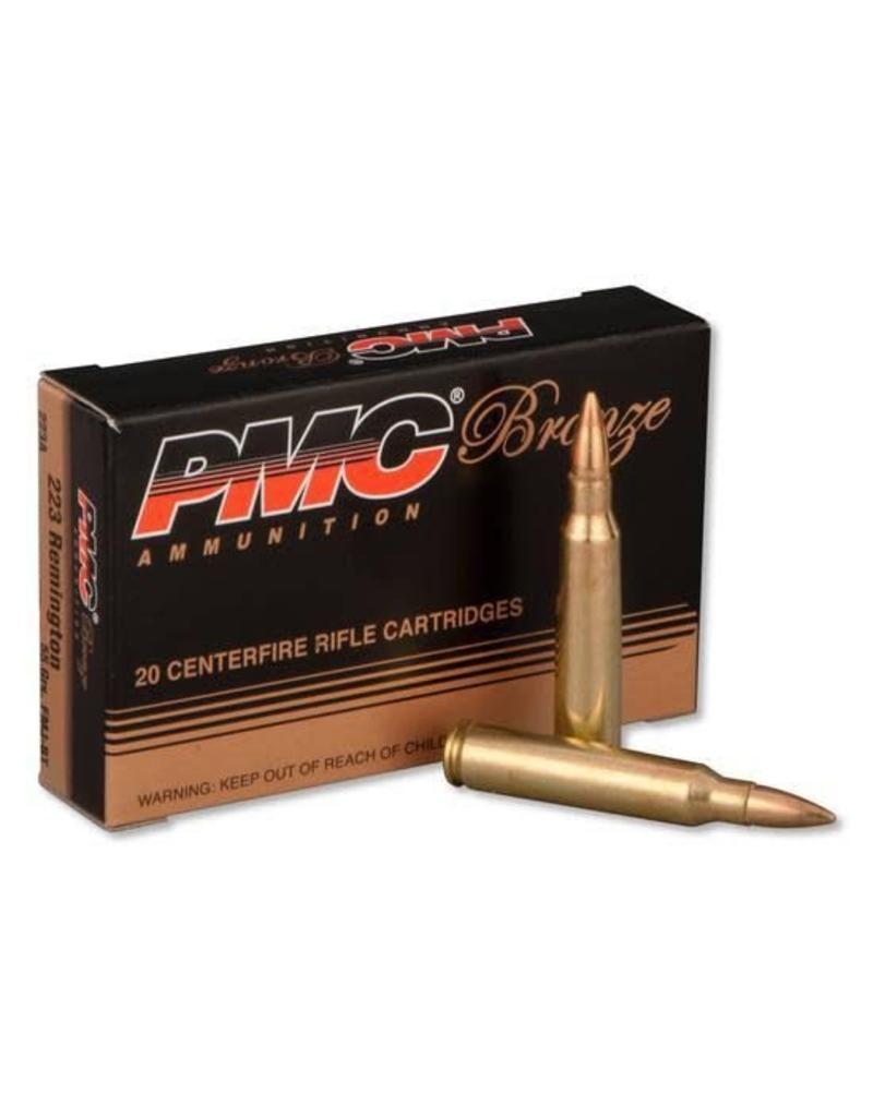 PMC Ammunition .223 Rem. Bronze FMJBT, 55 Grain