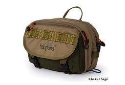 Fishpond Blue River Chest/Lumbar Pack - Khaki/Sage Green