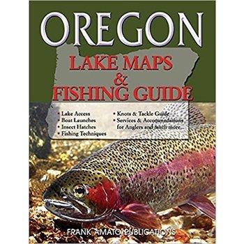 Oregon Lake Maps and Fishing Guide