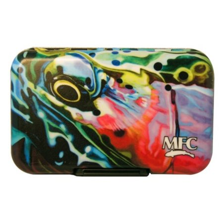 MFC River Camo Plastic Fly Box