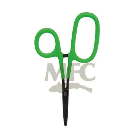 "MFC Hot Grip 5 1/2"" Scissors/ Forceps, Chartreuse"