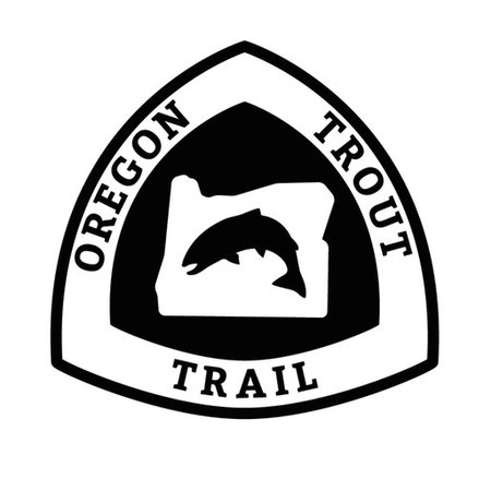 Oregon Trout Trail Decal
