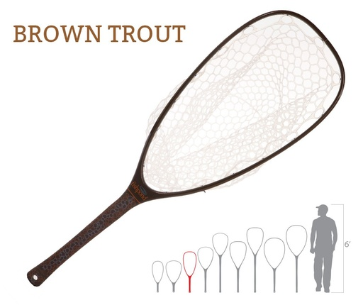 Fishpond Nomad Emerger Net, Brown Trout