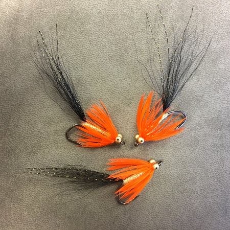 Comet, Orange and Black, sz 4