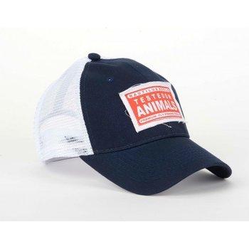 Nautilus Navy Trucker Hat, Tested on Animals
