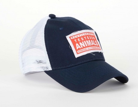 Nautilus Navy Trucker Hat, Tested on Animals
